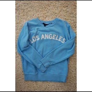J Crew Small Sky Blue Los Angeles Pullover